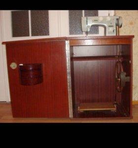 Швейная машинка с тумбой Подольск.