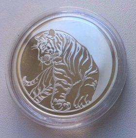 Тигр 3 руб ag925-31.1g серебра
