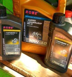 Моторные масла ROWE 5w40 10w40 5w30