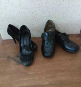 Туфли35,ботиночки36