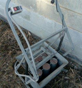 Станок для шлакоблоков бетоноблоков