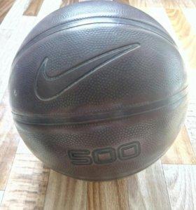 Кожаный баскетбольный мяч Nike
