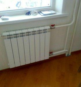 Радиаторы,счётчики,замена.