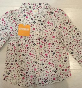 Рубашка для девочки Gymboree 3t