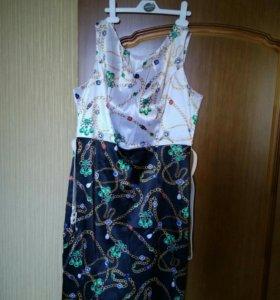 Платье летнее Ремикс, новое.