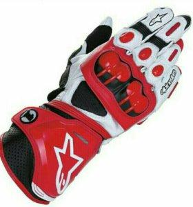 Gp-pro Красные мото перчатки gppro мотоперчатки