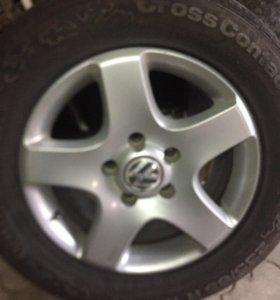 Продам 4 диска на Volkswagen Tuareg