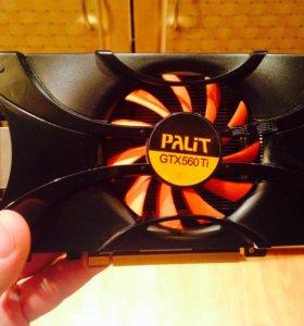 Nvidia GeForge GTX560TI