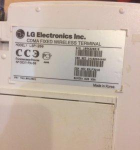 Беспроводной телефон LG