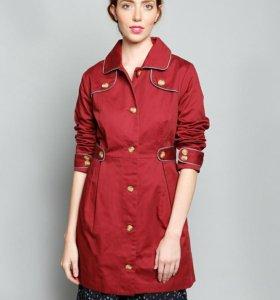 Плащ бордовый Isabel Coat