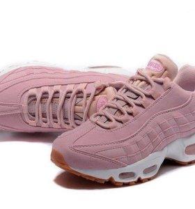 Кроссовки Nike air max 95 Essential розовый (pink)