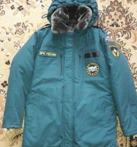 Продам новую зимнюю куртку МЧС