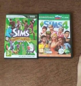 Диски The Sims 3,4