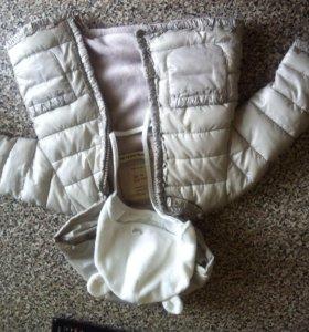 Курточка для девочки+ шапка