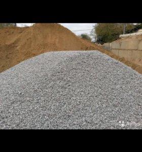 Песок, щебень, глина...