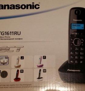 Телефон безпроводной стационарный  Panasonic новый