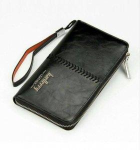 Стильный клатч портмоне Baellerry Leather