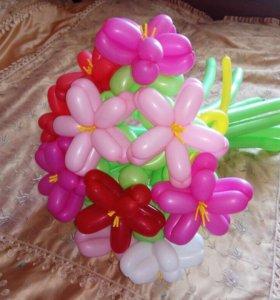 Букет из шариков