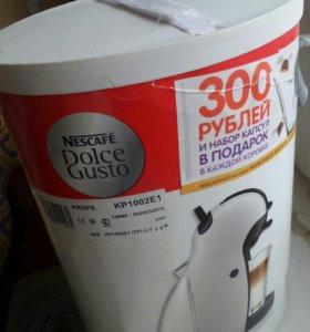 Кофе машина Нескафе дольче густо капсульная