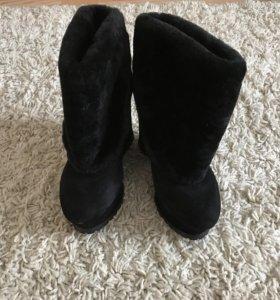 Ботильоны зимние, сапоги, ботинки