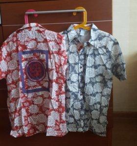 Новые рубашки размер 140-146