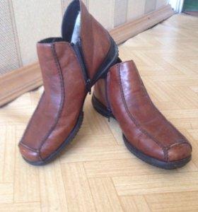 Новые ботинки кожаные