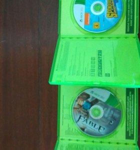 Диски игровые для Xbox 360