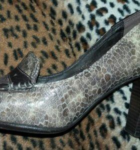 Туфли кожа 36 р. Италия