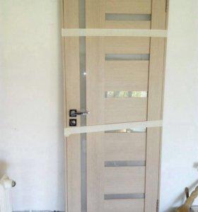 Межкомнатная дверь Eldorf Берлин 02 Дымчатый дуб