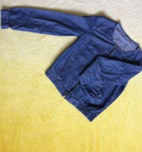 Джинсовая куртка GJ