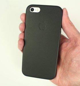 Leather case iPhone 5,5s,se (чехол)