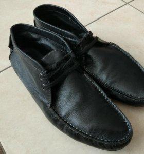 Мужские б/у мокасины, ботинки Mascotte  41р