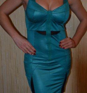 Вечернее платье, цвет бирюза💃🏻💃🏻💃🏻
