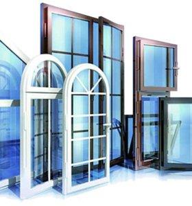Установка и отделка пластиковых ,алюминиевых окон.