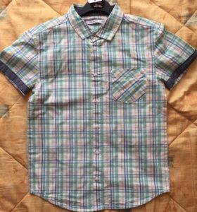 Новая рубашка на 9-10лет