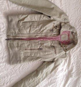 Куртка кожзам бершка