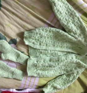 Кофта и носки