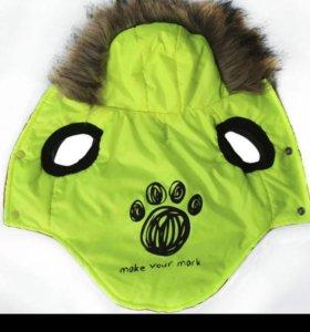 Куртка для собаки новая