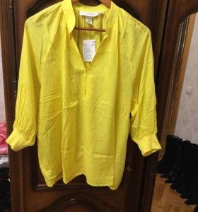 Блузка оверсайз H&M новая 48-50 размер