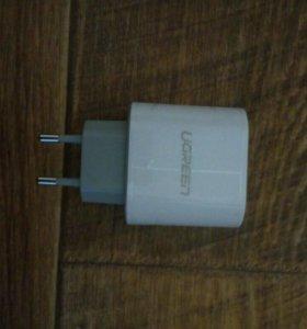 Оригинальное сетевое зарядное устройство Ugreen