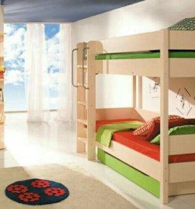 Спальный гарнитур молодёжный