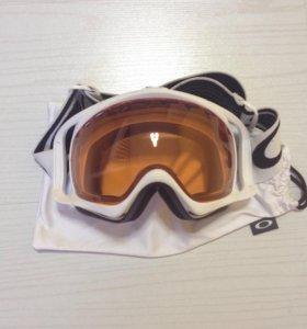 Маска сноубордическая Oakley crowbar новая