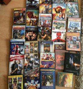 Продаю комплект дисков (игры) и DVD