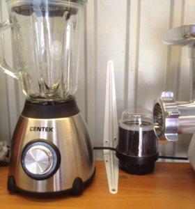 Мощный блендер+ кофемолка стекло и металл