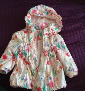 Куртка р86 весна-осень BabyGo