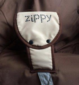 Коляска zippy с переноской,прогулочная