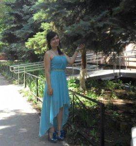 Вечерние платье и туфли