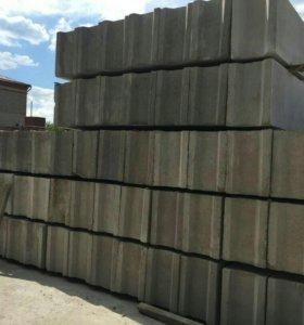 Блоки фундаментные,сыпучести.бетон