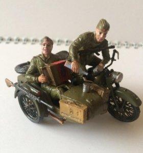 Солдатики 1/35,миниатюра для макета
