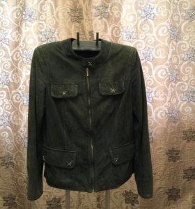 Куртка замшевая женская р 50
